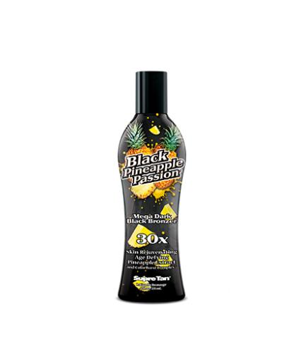 black-pineapple-passion mega dark bronze tanning lotion from supre tan