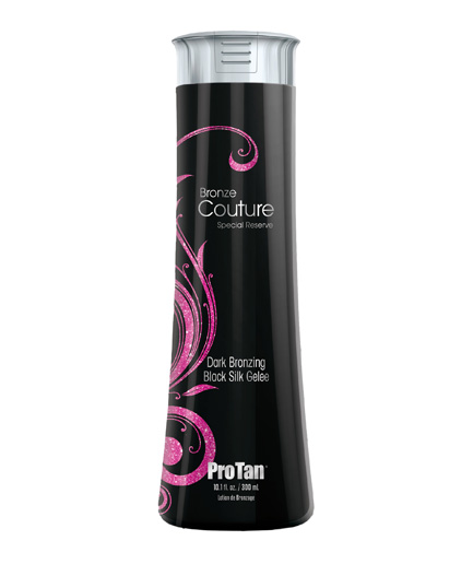 bronze-couture dark bronzing tanning lotion from pro tan