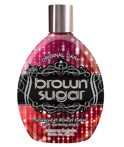 brown-sugar-original dark bronzing tanning lotion from tan inc