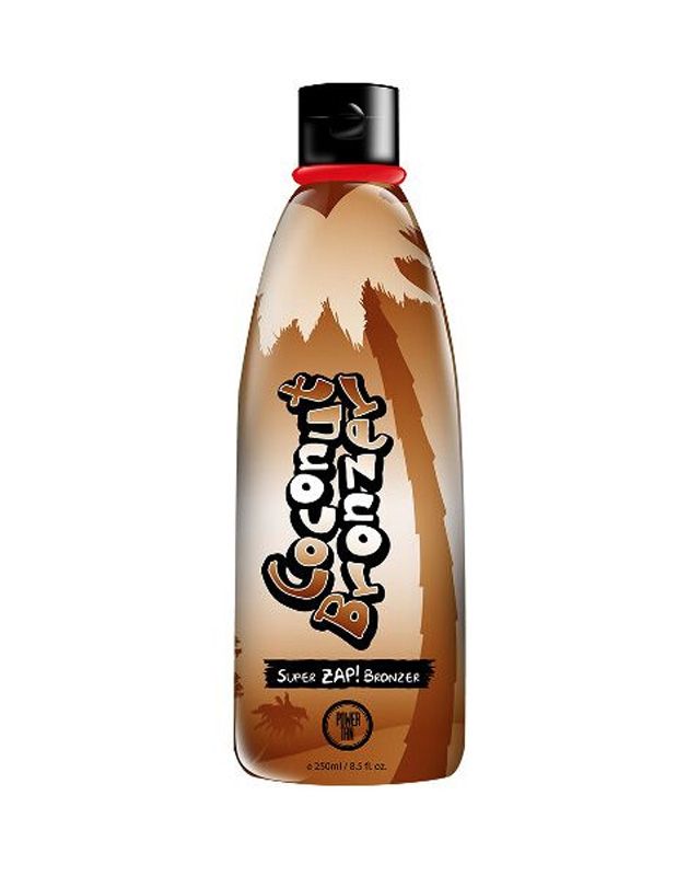 coconut-bronzer tanning lotion from power tan