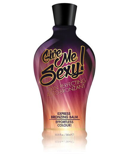 give-me-sexy bronzing tanning lotion