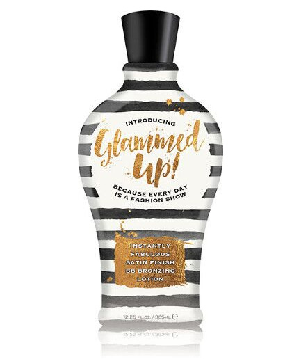 glammed-up satin finish tanning lotion