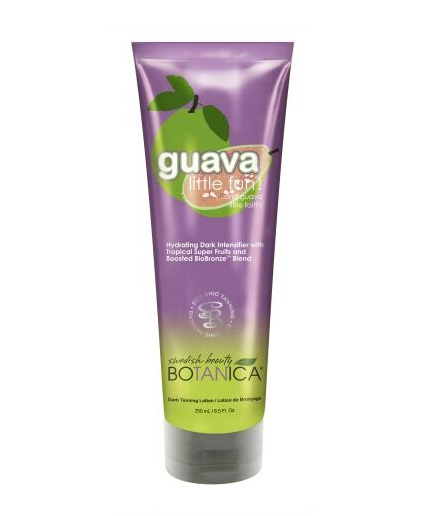 guava-little-fun swedish beauty tanning lotion from botanica