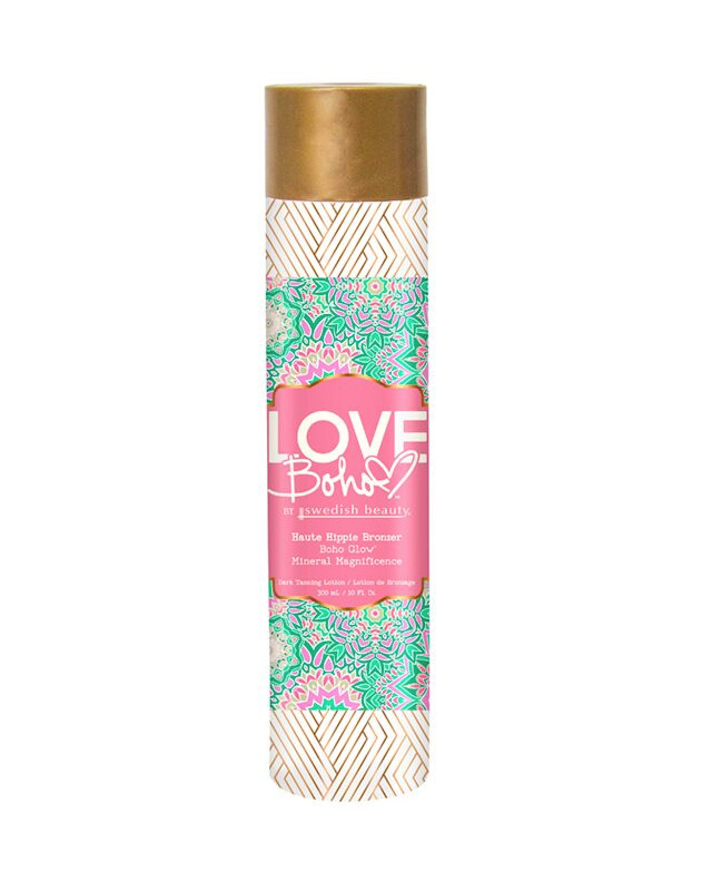 haute-hippie love boho tanning lotion swedish beauty