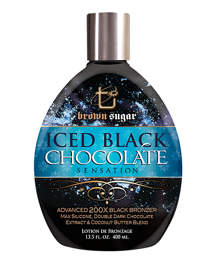 iced-black-chocolate sensation advanced black bronzer from tan inc brown sugar