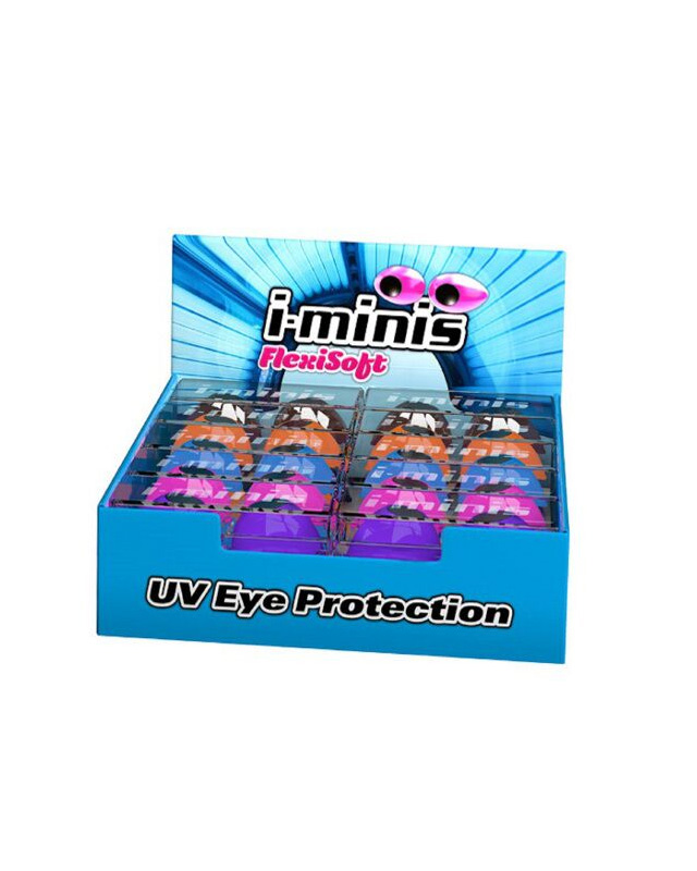 iminis uv eye protection from flexisoft for tanning sun bed use