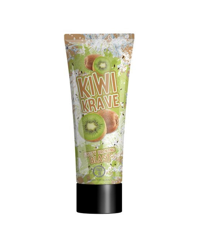 kiwi-krave fruity tanning lotion from power tan