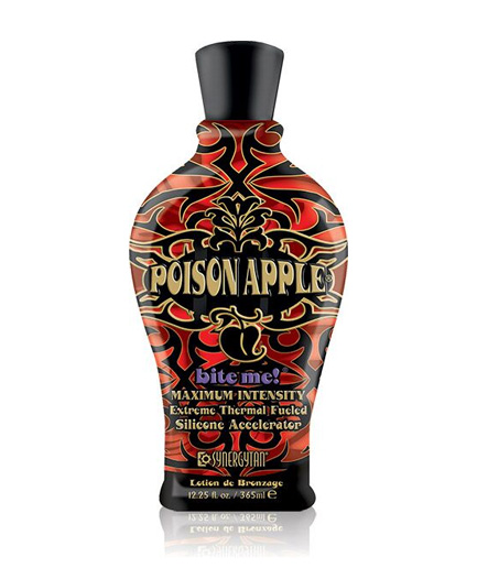 poison-apple tanning lotion from synergy