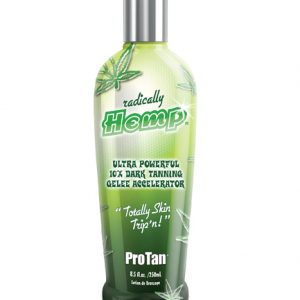 radically-hemp extreme tanning lotion from pro tan