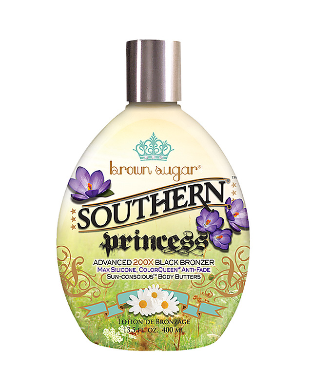 southern-princess tanning solution with advanced bronzer brown sugar