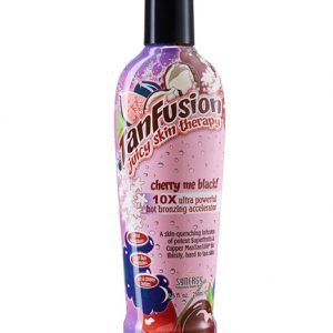 tan-fusion-cherry-me tropical fast action dark tanning bronzer from synergy tan
