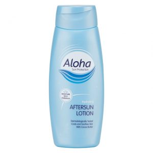 aloha sun protection cooling aftersun aloe vera moisture sun hydrating lotion