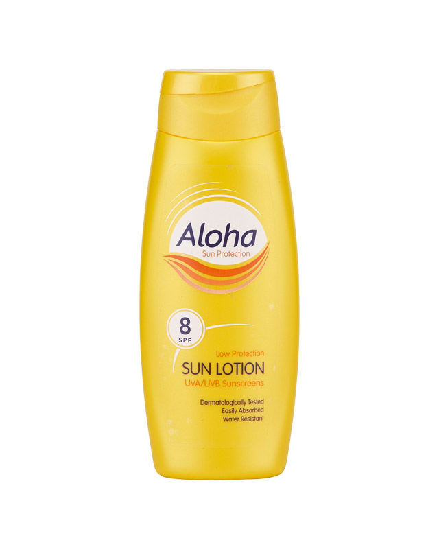 aloha high protection sun lotion spf 8 lotion uva uvb sun screen