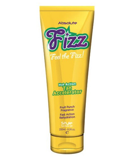 fizz hot action tan accelerator lotion from absolute