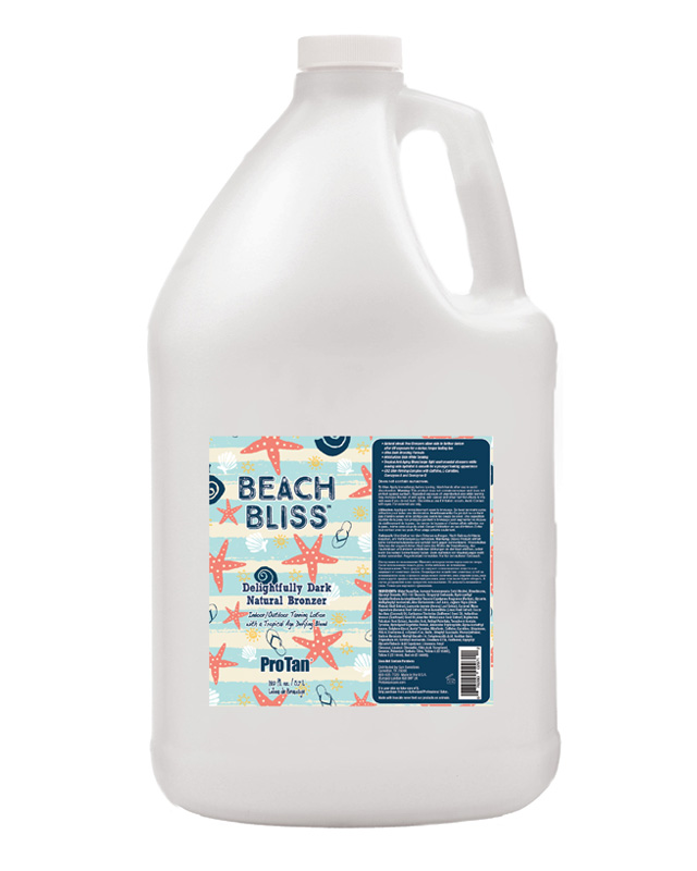 gallon-beach-bliss bulk tanning lotion for salon from pro tan