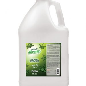 gallon-radically-hemp bulk tanning lotion for salon from pro tan