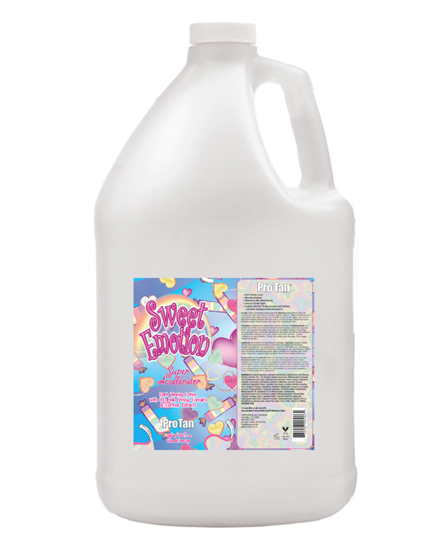 gallon-sweet-emotion salon bulk tanning lotion from sweet emotion