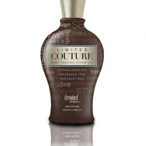 limited-couture dark tanning cream oil from devoted creations