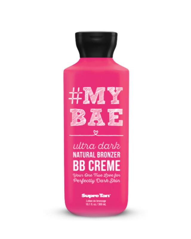 my-bae supre tan bb creme ultra dark natural bronzer