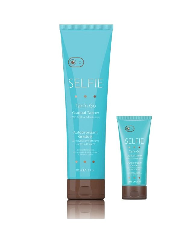 selfie-gradual-tanner lotion from tan n go
