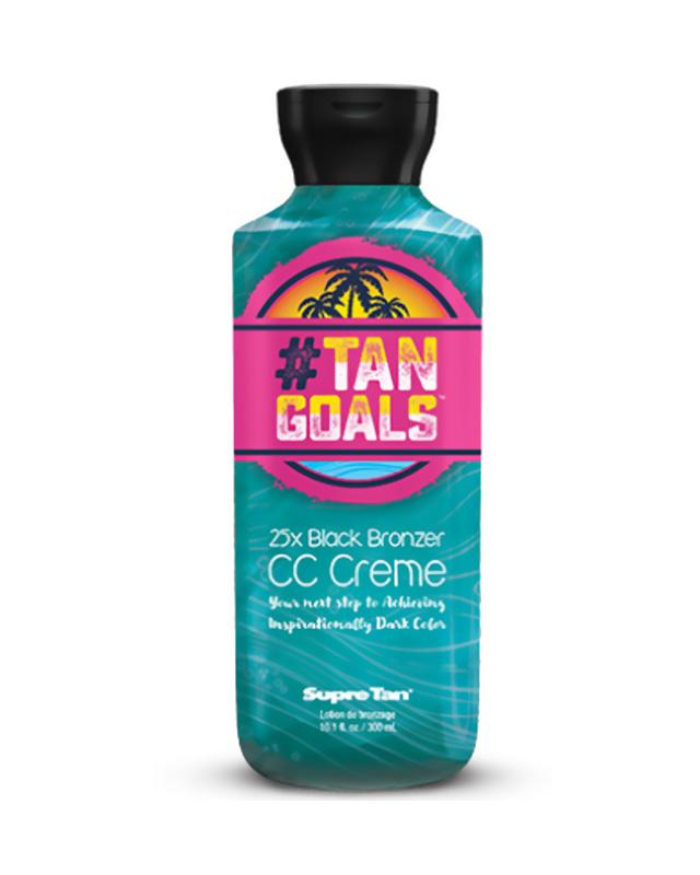 supre tan tanning lotion #tan goals cc creme ultra dark black