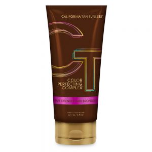 California tan sunless tan extender with colour perfecting complex bronzer