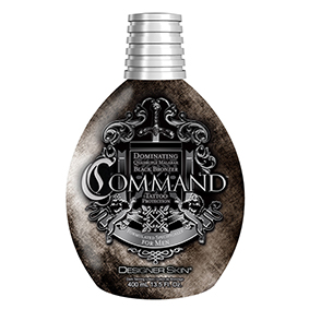 designer skin tanning lotion Command