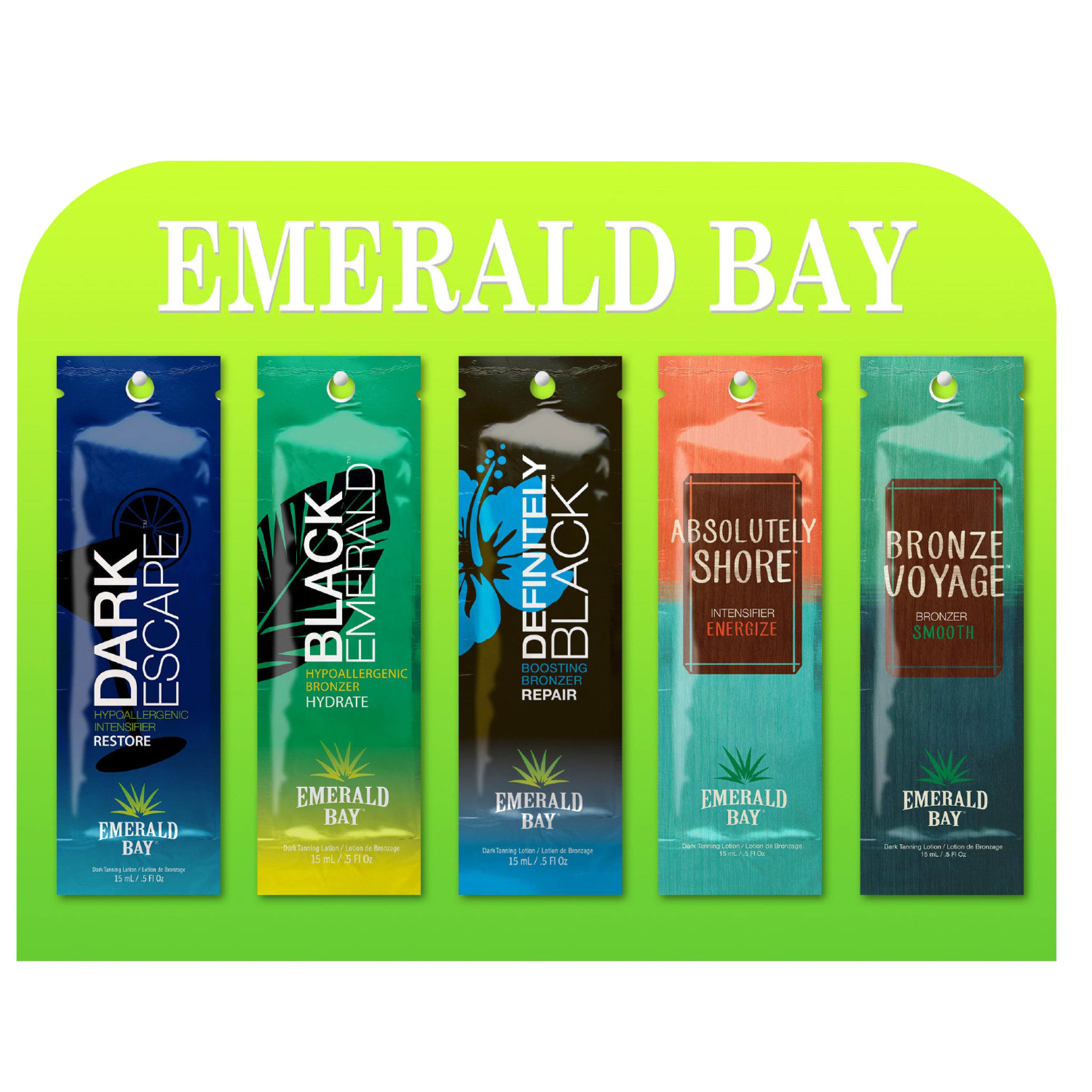 emerald bay salon starter tanning lotion starter kit