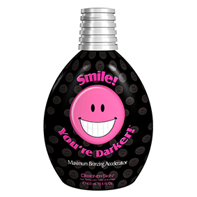 designer skin tanning lotion Smile Your Darker