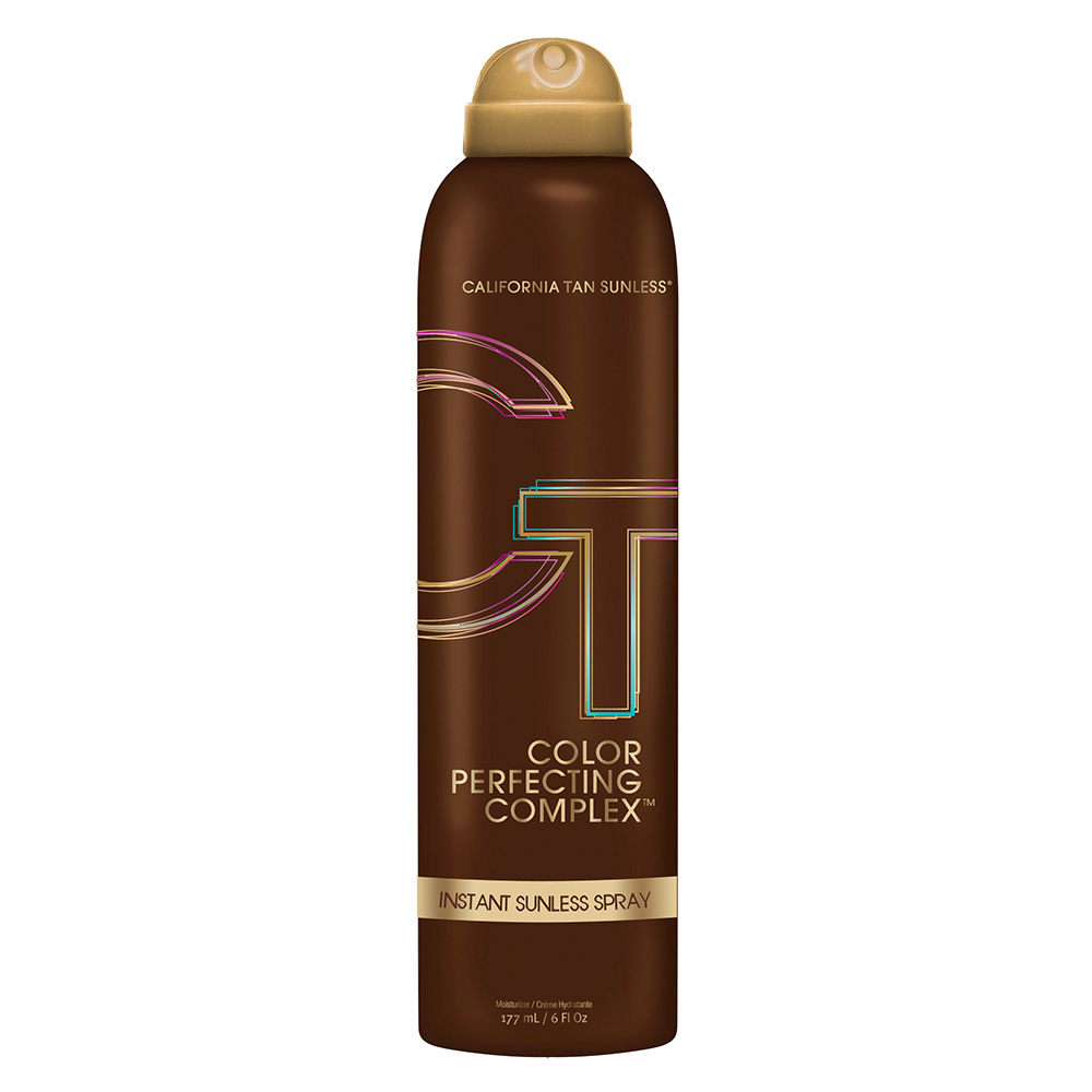 California Tan colour perfecting complex product instant sunless spray