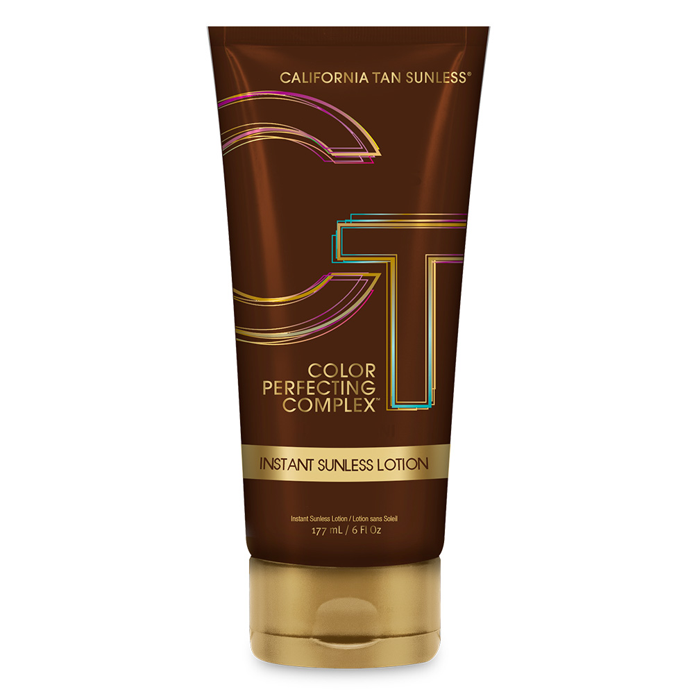 california tan sunless colour perfecting complex instant lotion product