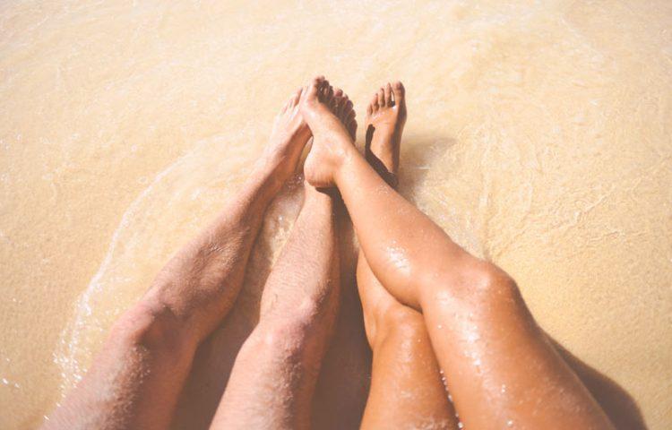 Beach Tan Legs
